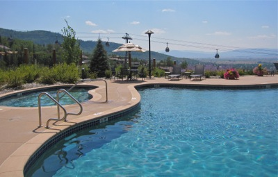 Edgemont pool in Steamboat Springs CO