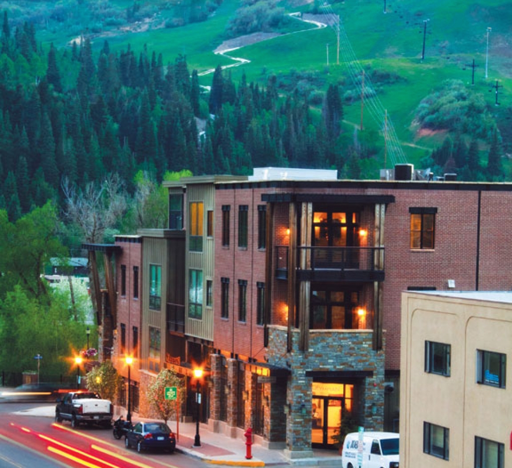 Olympian downtown Steamboat Springs Colorado